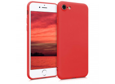 Coque iPhone 7 / iPhone 8/ SE 2020 Red Matte Flex