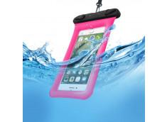 Pochette Waterproof Universelle IPX8-Rose