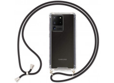 Coque Samsung Galaxy S20 Ultra Necklace Clear Shock + 1 tour de cou offert