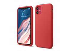 Coque iPhone 11 Red Matte Flex