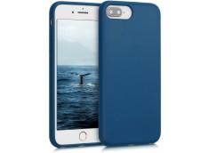 Coque iPhone 7 Plus/8 Plus Silicone Biodégradable-Bleu Marine