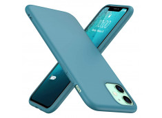 Coque iPhone 11 Duck Egg Blue Matte Flex
