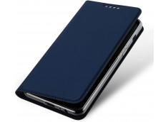 Etui Samsung Galaxy A10 Smart Premium-Bleu Marine