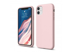 Coque iPhone 11 Pink Matte Flex