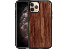Coque iPhone 11 Pro Max Bois-Walnut