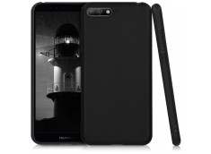 Coque Huawei Y6 2018 Black Matte Flex