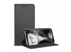 Etui Huawei P30 Lite Smart Premium-Gris Anthracite