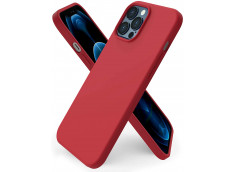 Coque iPhone 12 Mini Red Matte Flex
