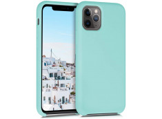 Coque iPhone 11 Pro Max Silicone Gel-Turquoise