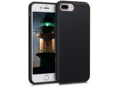Coque iPhone 7 Plus/8 Plus Silicone Biodégradable-Noir
