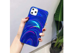 Coque iPhone 7 / iPhone 8/ SE 2020 Laser Protect-Bleu