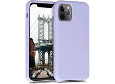 Coque iPhone 11 Pro Max Silicone Gel-Lila