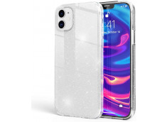 Coque iPhone 12 Pro Max Glitter Protect-Argent