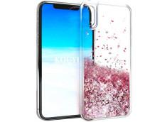 Coque iPhone XR Liquid-Rose