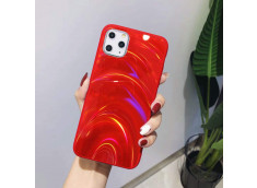 Coque iPhone 11 Laser Protect-Rouge