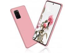 Coque Samsung Galaxy S20 Light Pink Matte Flex