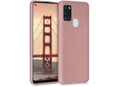 Coque Samsung Galaxy A21S Light Pink Matte Flex