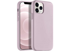 Coque iPhone 12 Mini Silicone Gel-Mauve