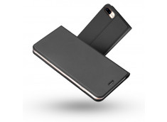 Etui iPhone 7 Plus/iPhone 8 Plus Smart Premium-Gris Anthracite