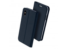 Etui iPhone XS Max Smart Premium-Bleu Marine