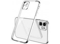 Coque iPhone 12 Mini Metal Clear Silver