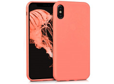 Coque iPhone X/XS Coral Matte Flex
