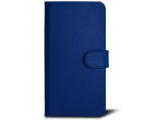 Etui iPhone XS Max Leather Wallet-Bleu