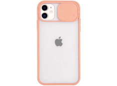 Coque iPhone 11 Pro Cache Objectif-Rose