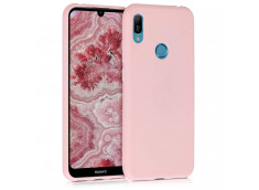 Coque Huawei Y6 2019 Light Pink Matte Flex