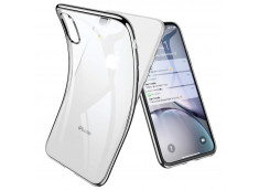 Coque iPhone XR Silver Flex