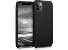 Coque iPhone 11 Silicone Gel-Noir