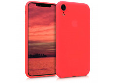 Coque iPhone XR Red Matte Flex