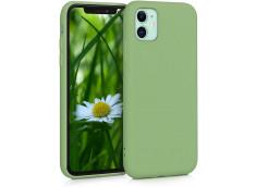 Coque iPhone 11 Matcha Green Matte Flex