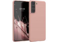 Coque Samsung Galaxy S21 Plus Light Pink Matte Flex