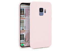 Coque Samsung Galaxy S9 Light Pink Matte Flex