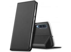 Etui Samsung Galaxy A50 Smart Premium-Gris Anthracite