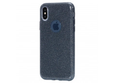 Coque iPhone XS Max Glitter Protect-Noir
