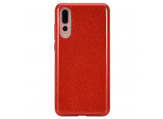 Coque Huawei P20 Pro Glitter Protect-Rouge