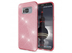 Coque Samsung Galaxy S8 Glitter Protect-Rose