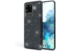 Coque Samsung Galaxy S20 Ultra Glitter Protect-Noir