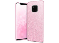 Coque Huawei Mate 20 Pro Glitter Protect-Rose