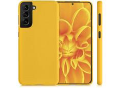 Coque Samsung Galaxy S21 Yellow Matte Flex