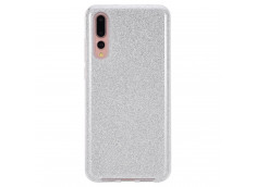 Coque Huawei P20 Pro Glitter Protect-Argent