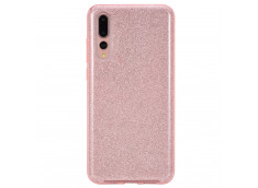 Coque Huawei P20 PRO Glitter Protect-Rose