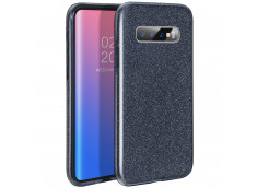 Coque Samsung Galaxy S10 Plus Glitter Protect-Noir