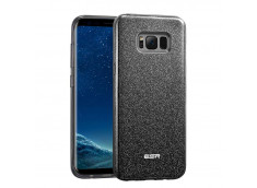 Coque Samsung Galaxy S8 Glitter Protect-Noir
