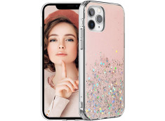 Coque iPhone 11 Liquid-Pink