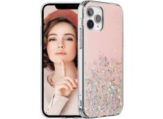 Coque iPhone 12/12 Pro Liquid-Pink