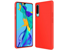 Coque Huawei P30 Red Matte Flex