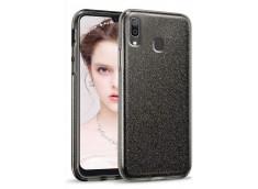 Coque Samsung Galaxy A20e Glitter Protect-Noir